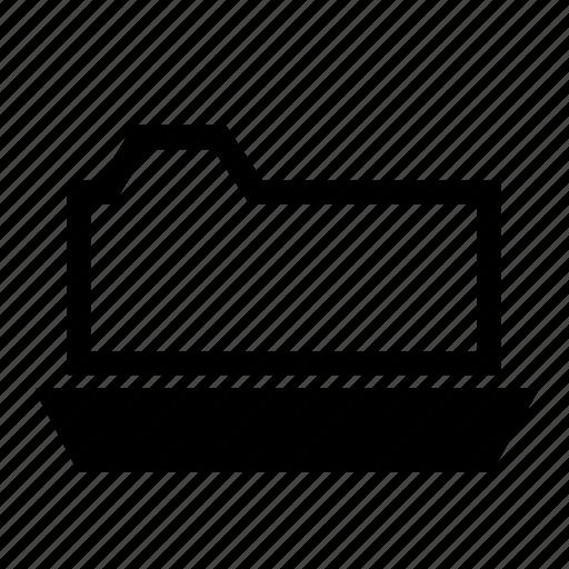 file, folder, open, storage icon