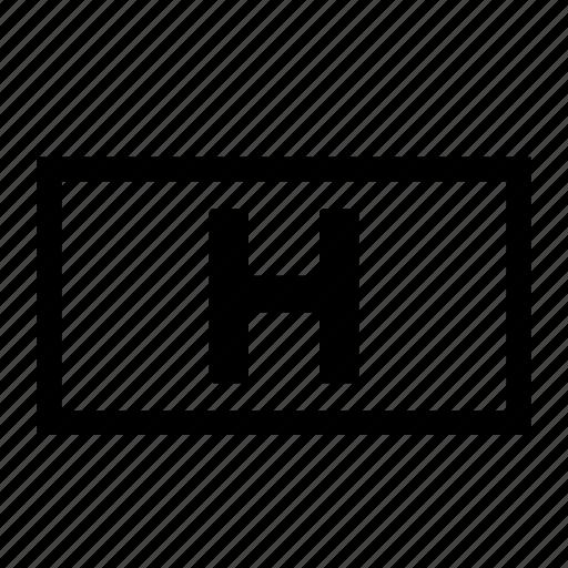 align, horizontal, layout, orient, orientation icon
