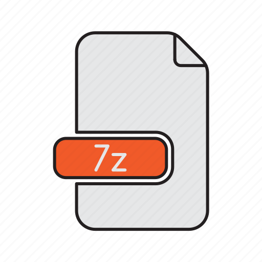 compressed, extension, file, type, zip icon