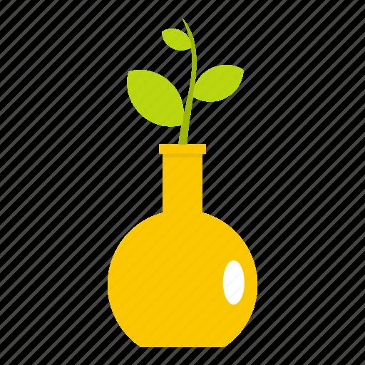 leaf, natural, nature, plant, seed, seedling, vase icon
