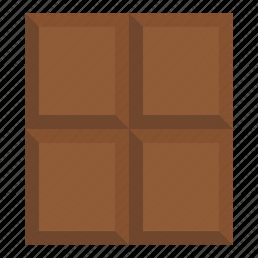chocolate, dark, dessert, food, gmo, snack, sweet icon