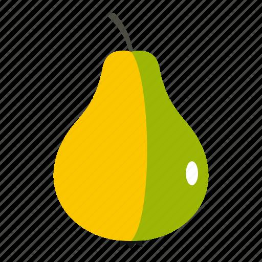 biotechnology, fresh, fruit, modified, organic, pear, ripe icon