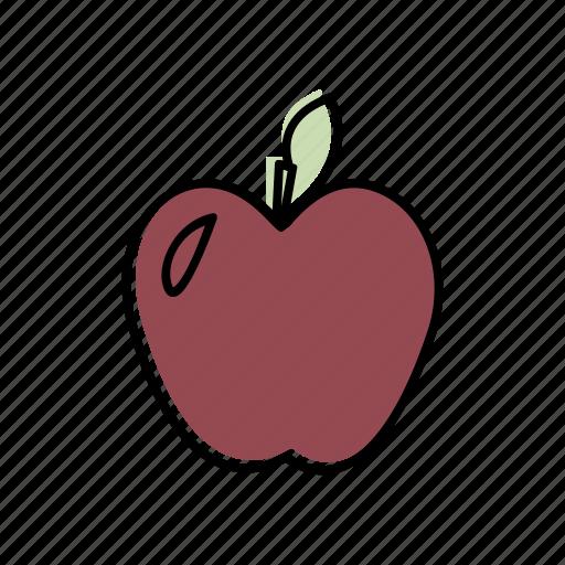 apple, fresh, fruit, sweet icon