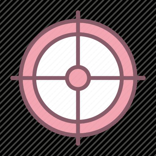 aim, business, crosshair, goal, startup, target icon