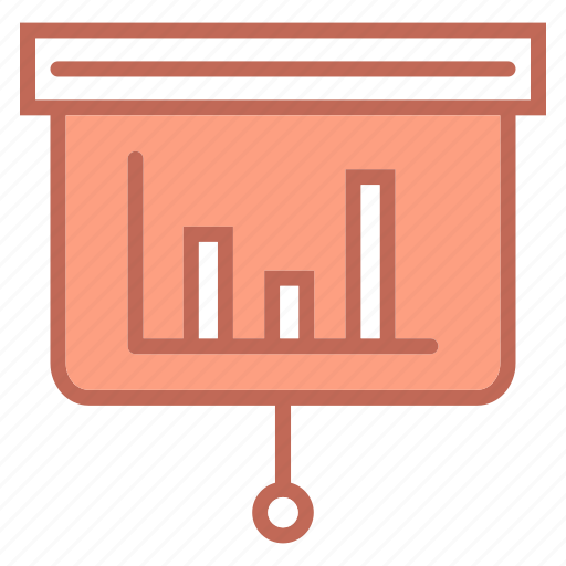 business, chart, diagram, graph, line chart icon