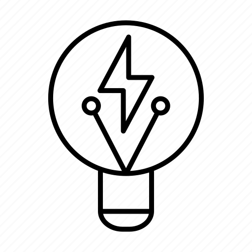 bulb, business, concept, idea, light, startup icon