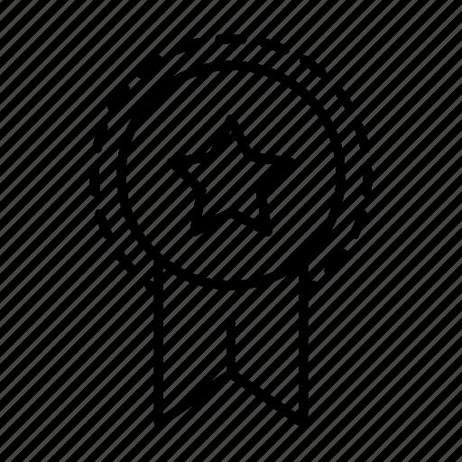 badge, business, reward, seal, star, startup, winne icon