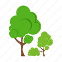 environment, forest, garden, gogreen, green, polution, tree icon