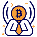 bit, bitcoin, crypto, currency, manager, money icon