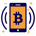 app, bit, bitcoin, crypto, currency, money, splash icon