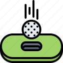 ball, field, flight, golf, golfer, hole, sport icon