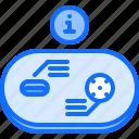 analysis, data, field, golf, golfer, information, sport icon