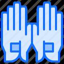 field, gloves, golf, golfer, sport, uniform icon