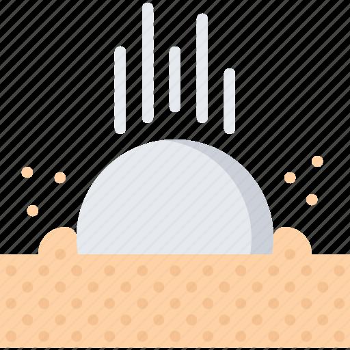 ball, field, golf, golfer, sand, sport icon