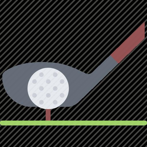 ball, club, field, golf, golfer, sport, tees icon
