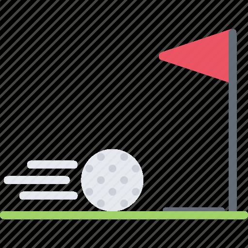 ball, field, golf, golfer, hole, speed, sport icon