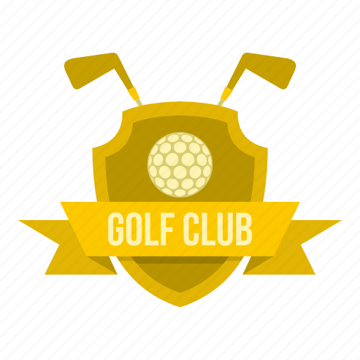 ball, banner, club, competition, game, golf, sport icon
