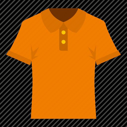 casual, cloth, cotton, polo, shirt, short, sleeve icon