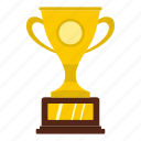 award, cup, gold, golf, sport, success, trophy icon