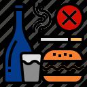 bad, smoking, break a bad habid, fast food, unhealthy food