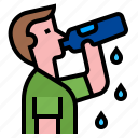 drink, drinking, refreshing, thirsty, drink a water icon