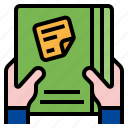 document, important tasks first, paper, sheet, task icon