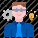 effective, personality, skills, personal development, skill development icon