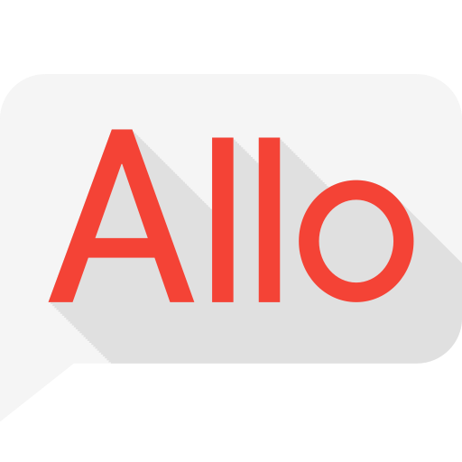 allo, app, application, google, message, messenger icon