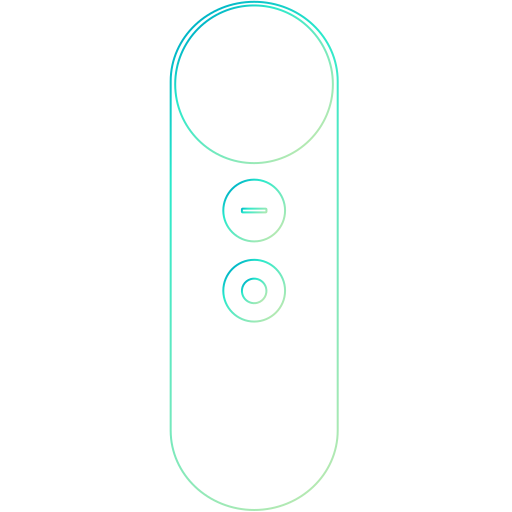 controller, daydream, google, joystick icon
