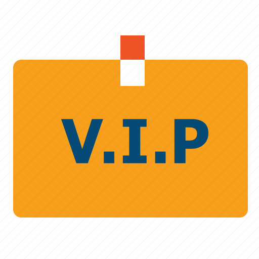 access, badge, celebrity, client, exclusivity, luxe, premium, priority, privilege, vip icon