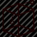 box, idea, out icon