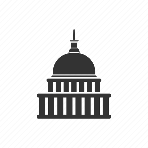 administrative, architecture, building, governance, government, house, state icon