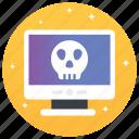 computer hacking, cyber crime, hacking, steal website, web crime, website hacker icon