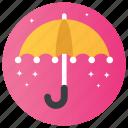 brolly, rain protection, safe umbrella, sunshade, umbrella icon