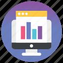 data monitoring, analytics, graphs, bar chart, online graph, business chart, bar graph