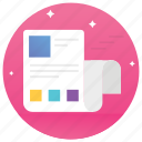 blog page, blogging, online blog, web equipment, web page icon