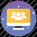 community, online communication, team network, online networking, online team