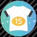 mens wear, plain shirt, shirt, sports shirt, tee shirt icon