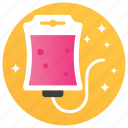 blood transfusion, infusion bottle, infusion drip, iv drip, iv therapy icon