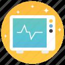 cardiogram, chechkup, ecg machine, electrocardiogram, medical examination icon