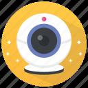 camcorder, camera, internet camera, web camera, webcam icon