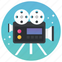 camcorder, camera, movie camera, shooting, video camera, video shooting icon