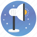 light stand, photoshoot, spot light, studio light icon