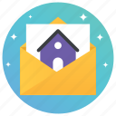 estate agreement, house document, house paper, property document, property paper icon