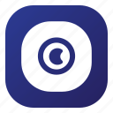 apps, camera, lens icon