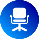 chair, director, gradient, job, position icon