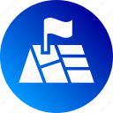 address, area, flag, gps, gradient, map, place icon