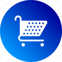 buy, gradient, shop, shopping, shopping cart icon