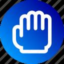 cursor, drag, grab, gradient, hand, move, pan icon