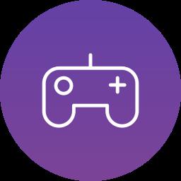 console, controller, games, joypad icon